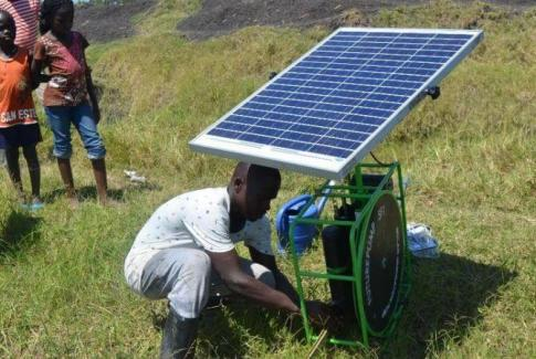 Solar-waterpump-in-Kenya